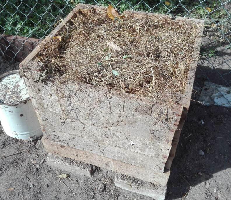 bokashi-kompostbehaelter fertig